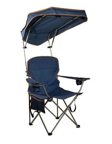 Quick-shade-canopy-camping-chair